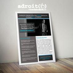 Create a Flier for Insurance Industry Speaker! by Kevalthacker