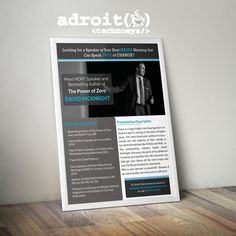 Create a Flier for Insurance Industry Speaker! by Kevalthacker