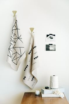 Cotton & Flax tea towels 1