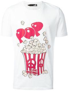 Love Moschino 'Pop Corn' print T-shirt