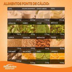 Fontes de Cálcio