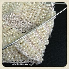 Knitted Beading