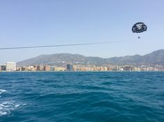 Parasailing - the new way to see the world