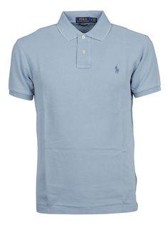 Ralph Lauren Chest Logo Polo Shirt In Blue Blue Chests, Polo Lauren, Adidas Men, Cool Shirts, Vintage Men, Jeans, Men Rings, Men's Polo, Nike Flex