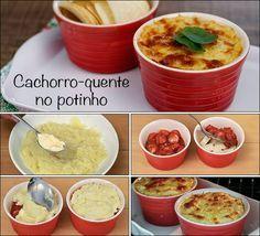 PANELATERAPIA - Blog de Culinária, Gastronomia e Receitas: Cachorro-Quente no Potinho