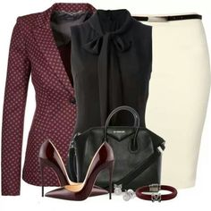 Olivia Pope Style for business....Not sure when I'd be able to wear it tho unfortunately