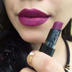 """Wet N Wild MegaLast Lip Color """"sugar plum fairy"""" Semi-Matte Finish . Wet N Wild Lipstick, Plum Lipstick, Matte Lipsticks, Lipstick Shades, Fall Lipstick Colors, Lip Colors, Colours, Makeup Swatches, Drugstore Makeup"""