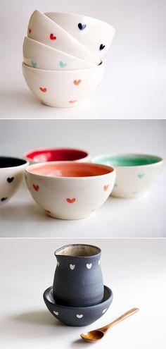 Cerâmicas handmade da Ross*Lab