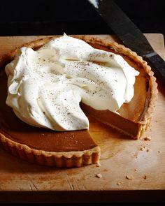 Chestnut Tart with Whole Wheat Shortcrust Pastry — Kitchen Repertoire Köstliche Desserts, Christmas Desserts, Delicious Desserts, Dessert Recipes, Sweet Pie, Sweet Tarts, Tart Recipes, Sweet Recipes, Chestnut Recipes
