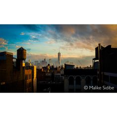 """""""Rooftop view of NYC"""" by Malike Sidibe. To view more of Malike's work please go to: YourArtGallery.com"""