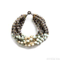 Aliah Beaded Layered Bracelet