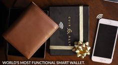 World's Most Functional Smart #Wallet Launched in India by #CuirAlly