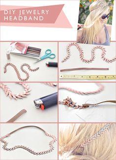 15 Cute DIY Headband Tutorials