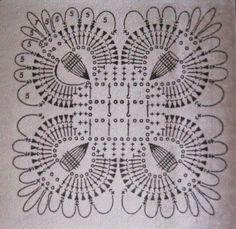 Ivelise Feito à Mão: Quadradinho De Crochê