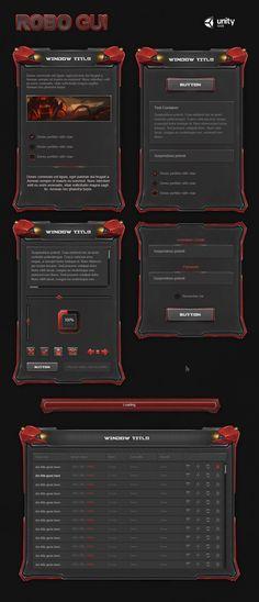 Robo GUI by Evil-S on DeviantArt
