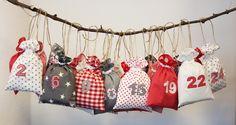 Advent Calendar Christmas Sewing, Advent Calendar, Christmas Wreaths, Craft Projects, Presents, Henna, Holiday Decor, Crafts, Inspiration