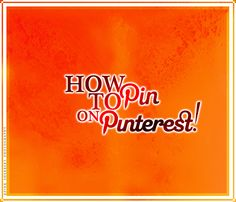 In this post @YourSoMeWorks shows us how to actually pin.