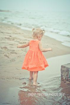 Amber Yanovich Photography: 2 Year Old, Toddler Beach Session - Jackson, MI Area Photographer