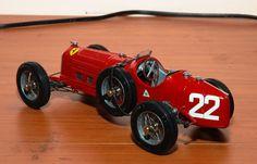 Alfa Romeo P3 Targa Florio scuderia Ferrari modello Revival 1/20 in metallo