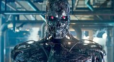 James Cameron and Deadpool Director Tim Miller Will Collaborate on the Next Terminator, and More Movie News T 800 Terminator, Terminator Movies, Boxing Images, Sam Worthington, Movie Spoiler, Michael Bay, Sci Fi Armor, Real Steel, Fiction Movies