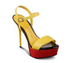 Modelo lindo de calçado feminino que faz parte da coleção verão 2013 da Bottero. #saltomeiapata