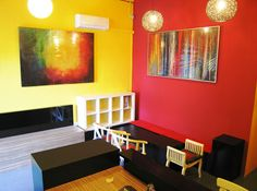 Moni Hostel and Art Gallery Hostel, Singapore, Art Gallery, Couch, Travel, Furniture, Home Decor, Art Museum, Settee