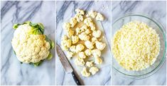 This post will show you how to create Cauliflower Rice 5 Ways - there are Mexican, Hawaiian, Greek, Indian and Asian flavours for this low carb side dish! Best Cauliflower Rice Recipe, Indian Cauliflower, How To Make Cauliflower, Healthy Meals To Cook, Healthy Recipes, Healthy Food, Frozen Vegetables, Veggies