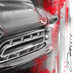 Automotive Artwork by Pinstripe Chris - Paintings