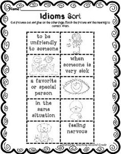 Literacy Worksheets for Second Grade - Your 2nd grade classroom or home school students are going to love working on nouns, idioms, antonyms, synonyms, syllables, parts of speech, ABC order, abbreviations, singular & plural nouns, subject & predicate, complete & incomplete sentences, compound words, contractions, long & short vowels, and prefixes. You get 86 pages of activities! Great printable worksheets you can use right away! {1st, 2nd, 3rd grader - second graders}