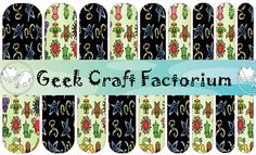 Cthulhu Nail Water Decal Wraps