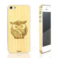 iPhone 5 Owl Bamboo Set, $29, now featured on Fab.