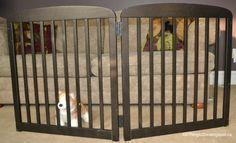 100 Things 2 Do – DIY – Free-Standing Pet Gate