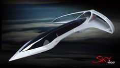 High-altitude supersonic Business-Jet