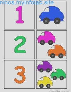 Printable flash card colletion for numbers with dots for preschool / kindergarten kids Preschool Kindergarten, Preschool Worksheets, Preschool Crafts, Toddler Learning Activities, Preschool Activities, Kids Learning, Transportation Theme, Math For Kids, Learning Colors