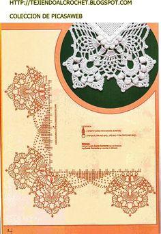 PATRONES - CROCHET - GANCHILLO - GRAFICOS: GRAFICOS=CROCHET=GANCHILLO=PUNTILLAS =COLECCION DE PICASAWEB