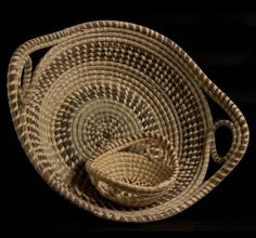 Coiled Sweetgrass Baskets