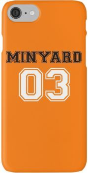 Andrew Minyard's Jersey iPhone 8 Cases