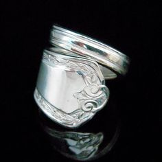 Zilveren lepel Ring - Hampden
