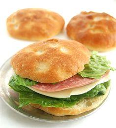 Ciabatta Rolls: more crust %14 more filling! - Flourish - King Arthur Flour