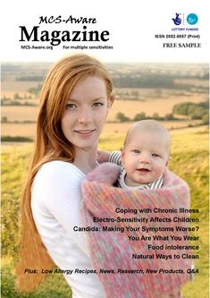 Free magazine you can download for people with Multiple Chemical Sensitivity, food intolerance and Electro-Hypersensitivity