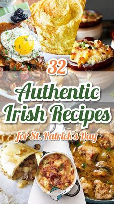 If you want to experience the rich culture of Ireland this St. Patty's day, here are some great recipes to try out! You're sure to find some new favorites! patricks day dinner ideas 32 Authentic Irish Recipes for St. St Patricks Day Essen, St Patricks Day Food, Irish Stew, Party Platters, Irish Appetizers, Party Appetizers, Scottish Recipes, Irish Food Recipes, Welsh Recipes