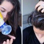 Απλώνει μαγιονέζα στα μαλλιά της και περιμένει 20 λεπτά. Μετά το λούσιμο; Θα Μείνετε!