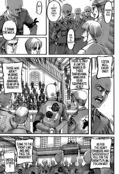 Read Shingeki no Kyojin / Attack on Titan Chapter 118 in English High Quality only at Aot Armin, Attack On Titan, Comic Books, Comics, Reading, Otaku, Messy Play, Reading Manga, Reading Books