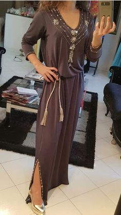 Morrocan Fashion, Modest Dresses, Formal Dresses, Kurti Styles, Kaftan Style, Boho Fashion Summer, Moroccan Caftan, Lace Tunic, Mode Style