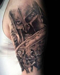 50 Spear Tattoo Designs For Men - Sharp Warrior Emblem Ideas Austin Tattoo, History Tattoos, Tattoo Designs Men, Tatting, Cool Pictures, Mens Fashion, Ancient History, Style, Awesome