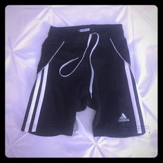 Adidas formation climacool bike run shorts XS Spandex legging shorts with a pocket.  Wear it with: adidas pink top listed in my closet! Adidas Shorts