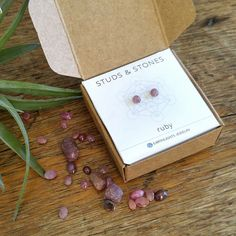 Earrings for sensitive ears. Ruby Earrings, Boho Earrings, Crystal Earrings, Pink Roses, Pale Pink, Cancer Sign, Healing Crystal Jewelry, Sensitive Ears, Natural Ruby