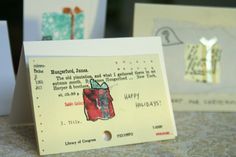 library themed christmas cards - Google Search