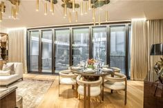 Dining chairs - 2 bedroom maisonette to rent  in One Hyde Park, 100 Knightsbridge, London