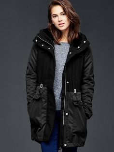 Three-in-one parka jacket Product Image